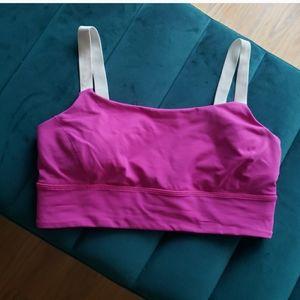 Lululemon   Ultra Pink Sportsbra - size 10